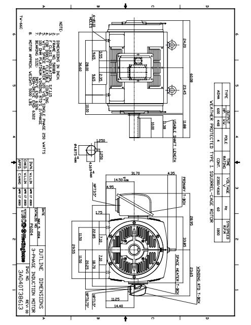 olp6004 model 1  tecowestinghouse motor company