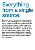 from a single source. Conergy AG Annual ... - Alle jaarverslagen - Page 3