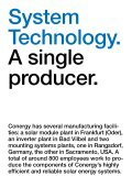 from a single source. Conergy AG Annual ... - Alle jaarverslagen - Page 4