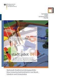 stadt:pilot 04 - Nationale Stadtentwicklungspolitik