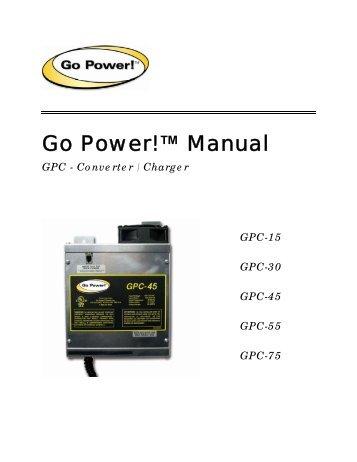 Go Power!™ Manual - PVPower.com