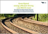 GreenSpeed energy efficient driving - and MUCH more
