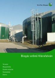 Factsheet Klárafalva (HU) - EnviTec Biogas South East Europe