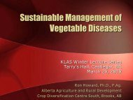 Diseases of Greenhouse Cucumbers and Tomatoes
