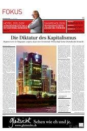 Die Diktatur des Kapitalismus - Philipp Löpfe