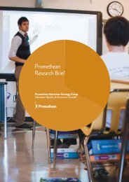 Download PDF - Promethean Technology in Education, Classroom ...