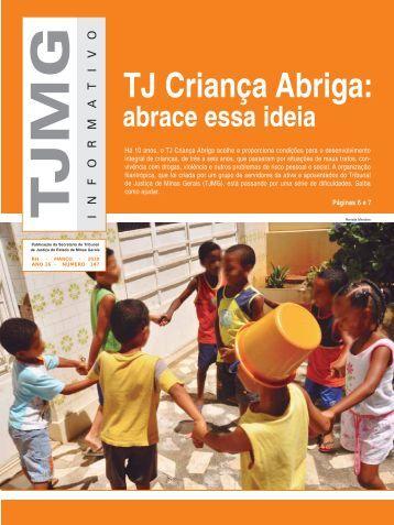 TJ Criança Abriga: - Tribunal de Justiça de Minas Gerais
