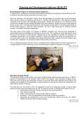 Training and development annual report 2011-2012 - University ... - Page 6