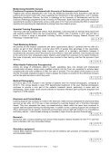 Training and development annual report 2011-2012 - University ... - Page 7