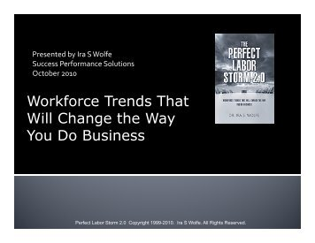 Workforce Trends That Will Change the Way You Do Business