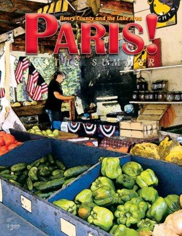 Summer 2010 - Paris! Magazine/MyParisMagazine.com