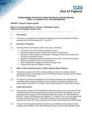 Project update report - Strategicprojectseoe.co.uk