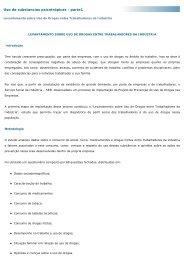 Levantamento Resumo - Observatório Brasileiro de Informações ...