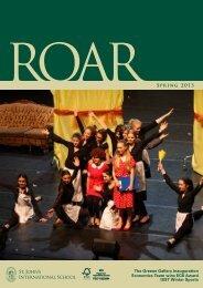 ROAR Spring 2013 - St. John's International School