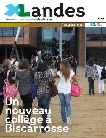 Landes Magazine N°7 - Conseil général des Landes