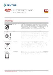 Pyrotenax MI Components & Accessories Data Sheet