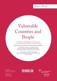 Vulnerable Countries and People - United Nations University