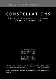 Constellations - Charles Stankievech