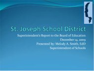 Blue - SJSD Home Page - St. Joseph School District
