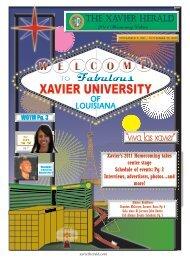 November 9, 2011 - Xavier University of Louisiana