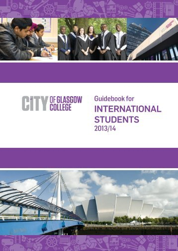 International Student Guide File - City of Glasgow College
