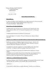 Réglement Intérieur (4 Aout 1983)