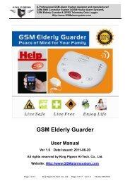 GSM Elderly Guarder