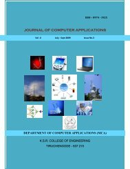 JOURNAL OF COMPUTER APPLICATIONS