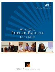 FUTURE FACULTY - Southern Regional Education Board
