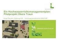 Ein Hochwasserrisikomanagementplan - Wasser, Klimawandel ...