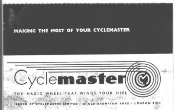 The Cyclemaster - The Coles