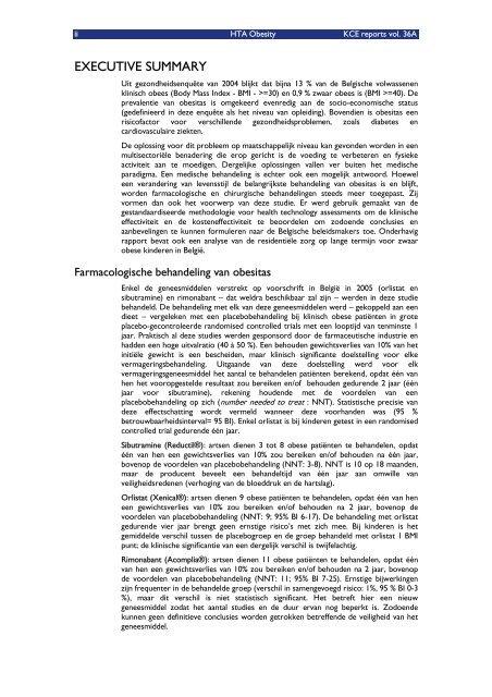 Farmacologische en chirurgische behandeling van obesitas ...