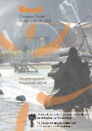 Congress Center 27. 06. – 29. 06. 2012 Hauptprogramm ...