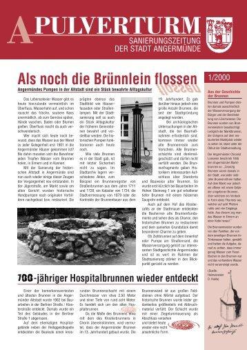 Ausgabe 1/2000 - historische Altstadt