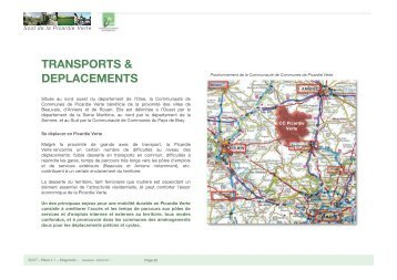 TRANSPORTS & DEPLACEMENTS - Communauté de Communes ...