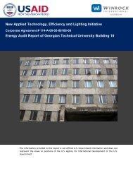 Energy Audit Report of Georgian Technical University ... - Tkibuli Tea
