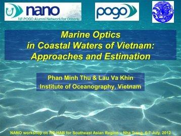 HAB for Southeast Asian Region – Nha Trang, 6 ... - NF-POGO-Alumni