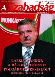 27. szám - 2007. július 26. - A Szabadság