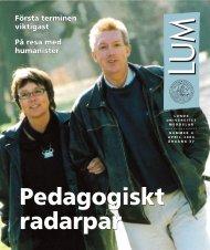LUM nr 4 - 16 april (PDF 2,6 MB - Nytt fönster) - Humanekologi ...