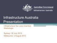 PDF: 923 KB - Infrastructure Australia