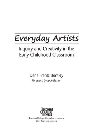 Everyday Artists - Teachers College Press
