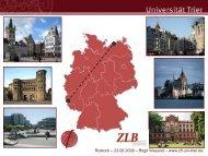 Die neuen Lehramtsstudiengänge im Fachgeschichte - Zentrum für ...