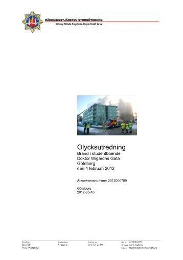 Komplicerad byggkonstruktion - Myndigheten för samhällsskydd och ...