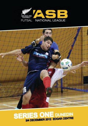 SERIES ONE dunedin - Futsal4all - Futsal