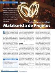 Malabarista de Projetos - Linux New Media
