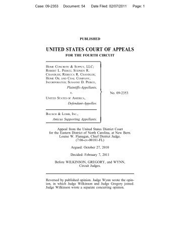 Home Concrete & Supply, LLC v. United States