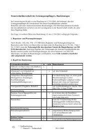 Steuerschuldnerschaft des Leistungsempfängers, Bauleistungen