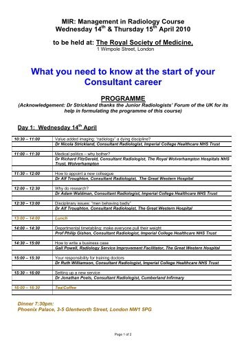 Browse through the Programme - MIR-Online