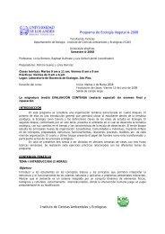 EcologiaVegetalA- 2008.pdf - Facultad de Ciencias - Universidad de ...