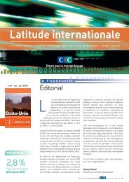 Latitude Internationale n°27 - CIC